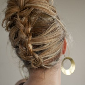 Braided Hairstyles Into A Ponytail
