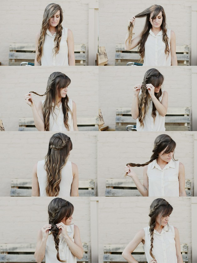 Outstanding Braided Hairstyles Step By Step Behairstyles Com Hairstyles For Women Draintrainus