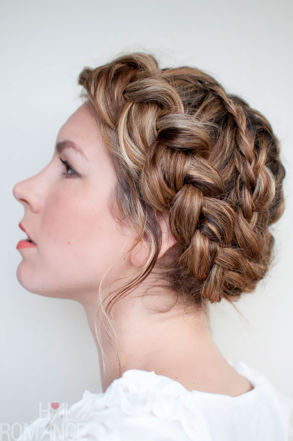 Pictures of Braided Hairstyles Wedding