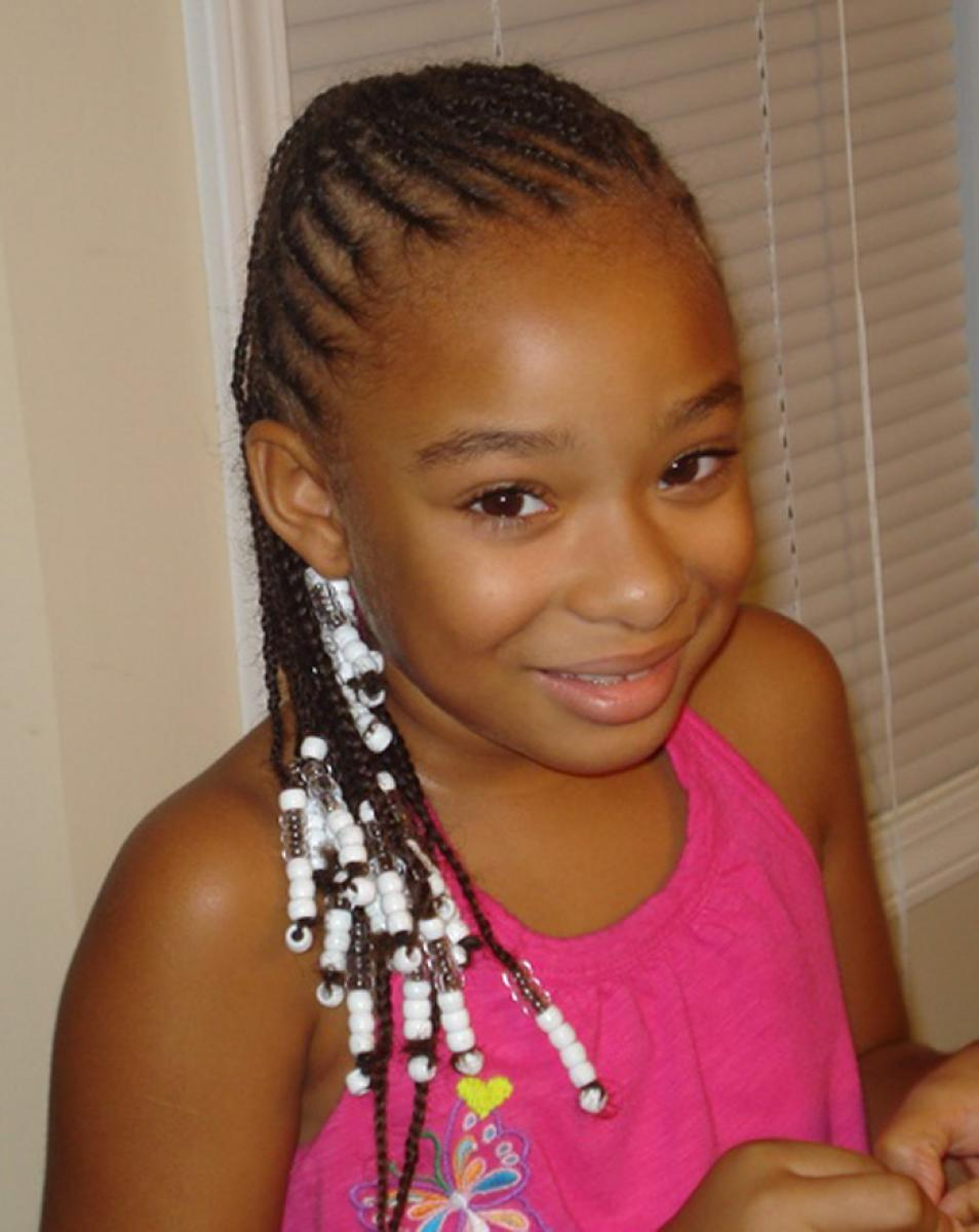 Pictures of Braided Hairstyles for Black Hair Kids