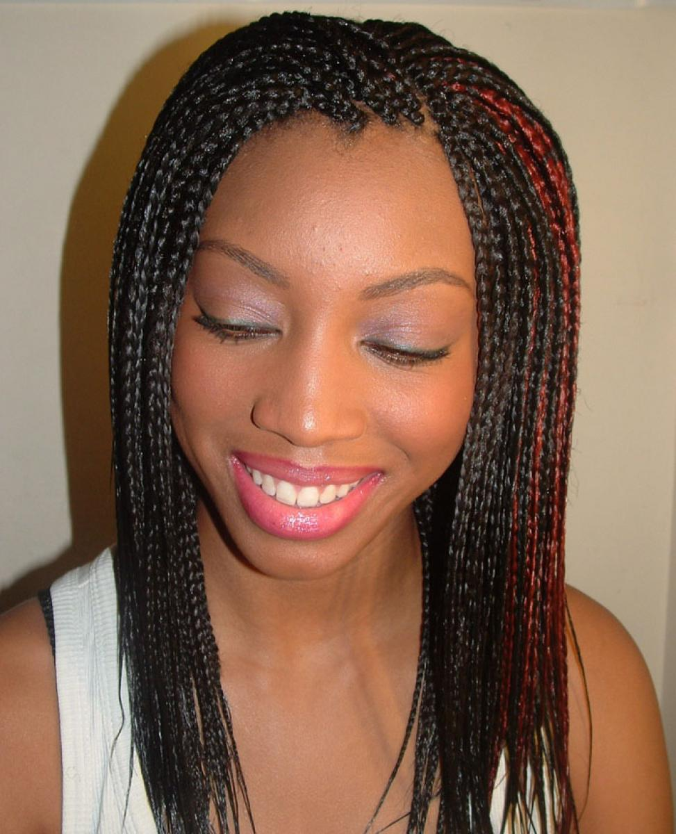 Pictures of Braided Hairstyles for Black Women 2013