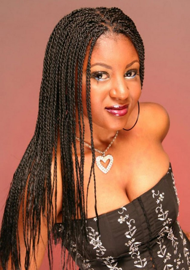 Braided Hairstyles for Natural Black Hair | Behairstyles.com