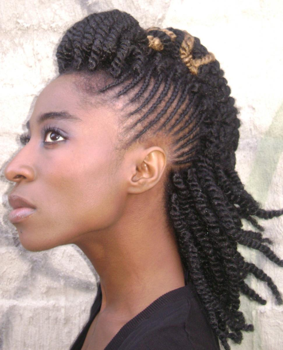 of Braided Weave Hairstyles for Black Hair