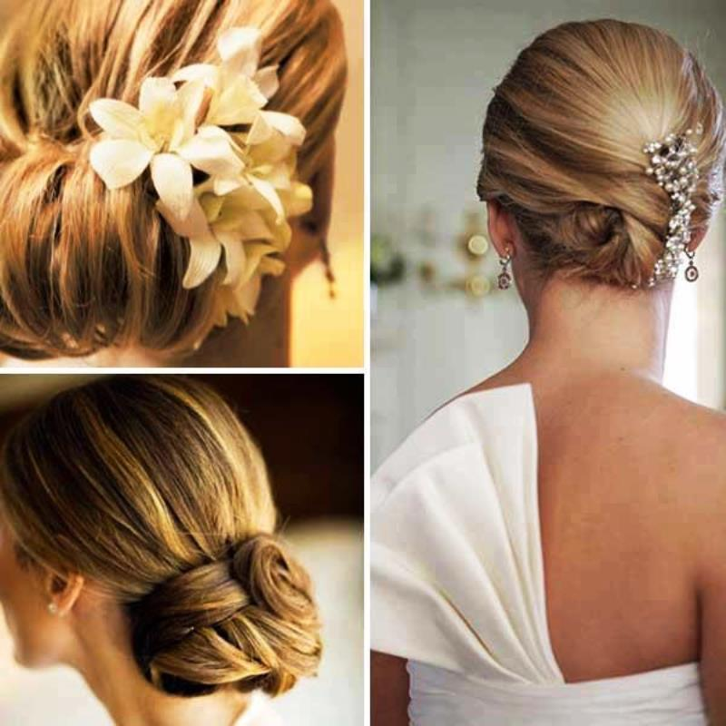 Pictures of Bridal Hairstyles Shoulder Length Hair 2013