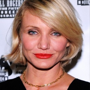 Cameron Diaz Short Haircut With Bangs