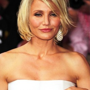 Cameron Diaz Short Hairstyles 2013