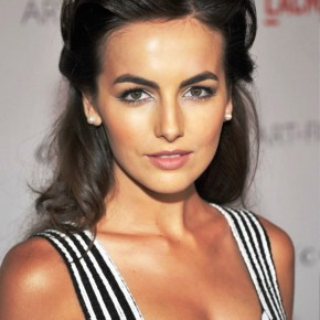 Camilla Belle Half Up Half Down Haircut