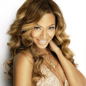 Caramel Long Curly Hairstyles 2013