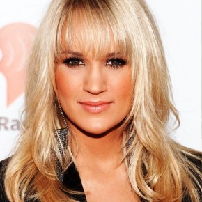 Carrie Underwood Long Straight Hairstyles