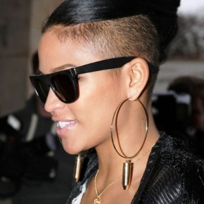 Cassie Top Knot Hairstyle
