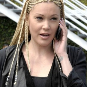 Celebrity Cornrows Hairstyles For Long Hair