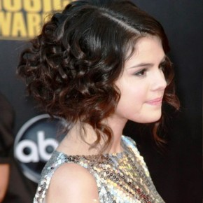 Celebrity Curly Bob Hairstyles 2013