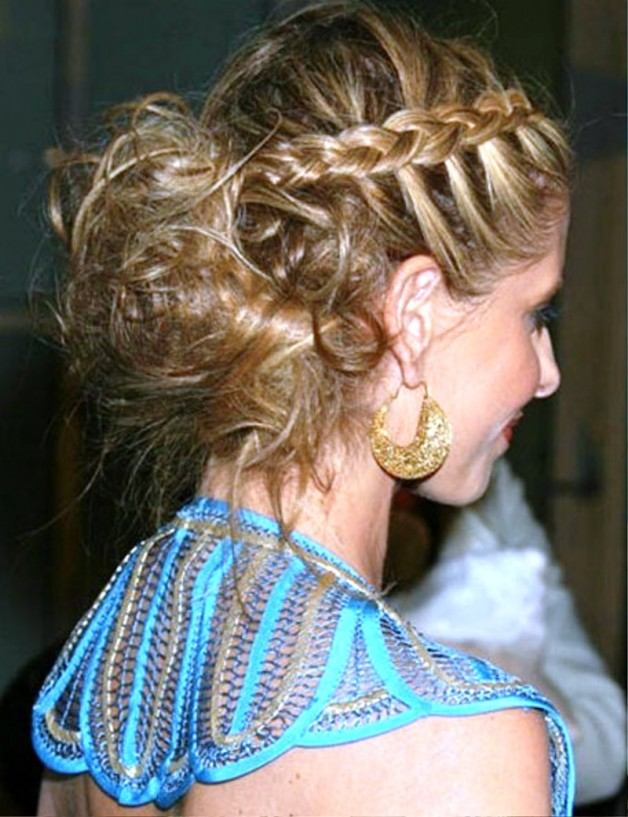 Celebrity French Braid Hairstyles