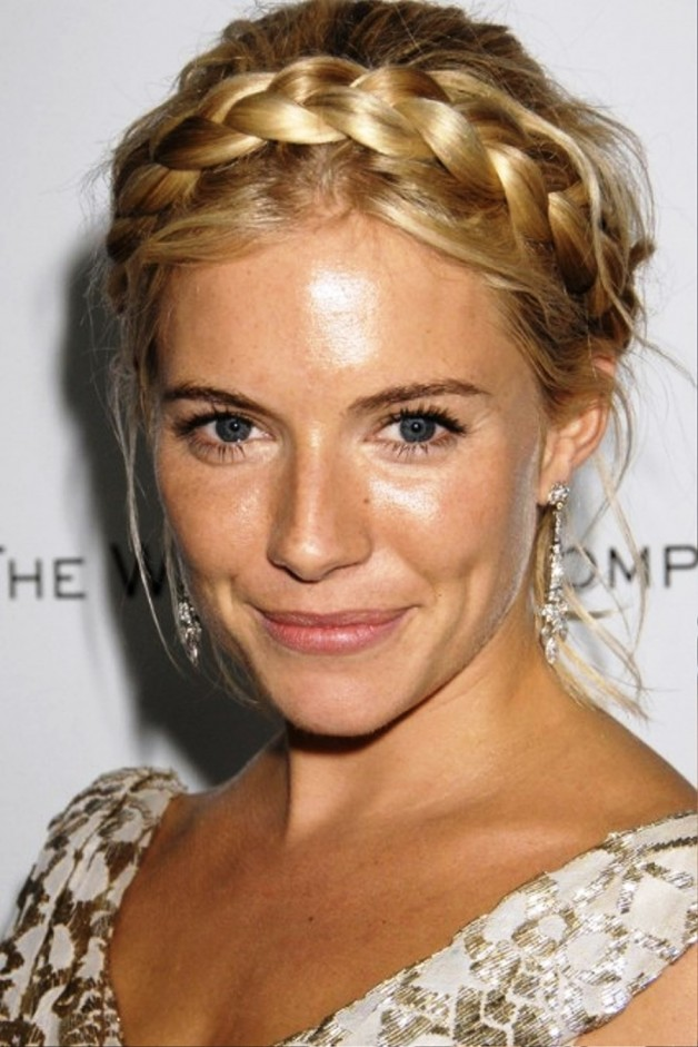 Celebrity Milkmaid Braids
