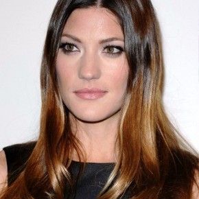 Center Part Ombre Hairstyles
