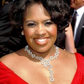 Chandra Wilson Short Dark Curly Hairstyle