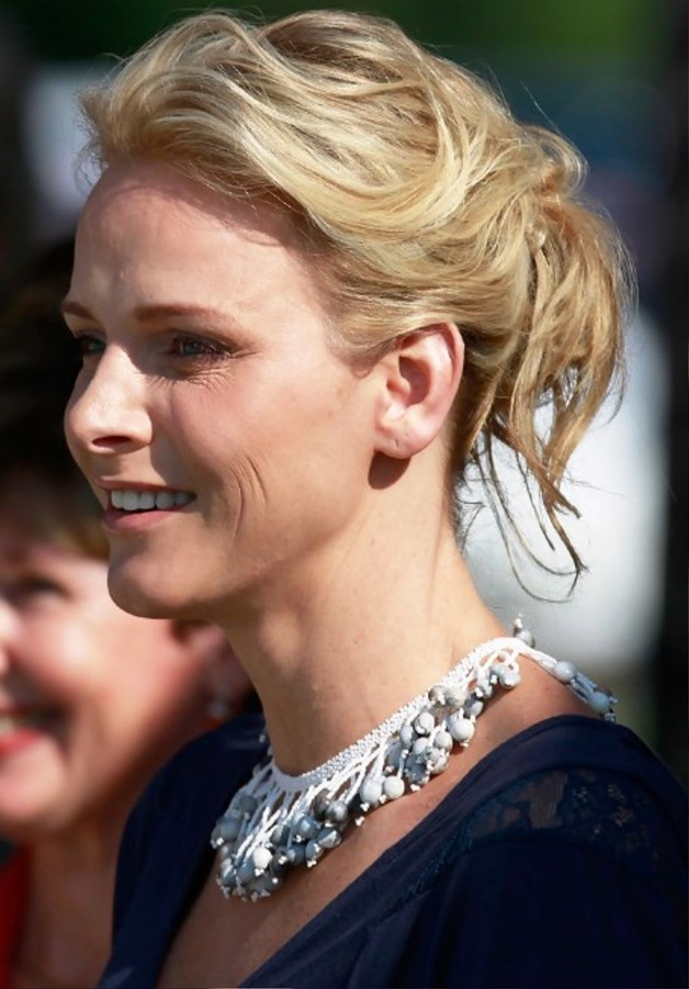 Charlene Wittstock Easy Daily Updo Hairstyle