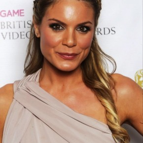Charlotte Jackson Braided Half Up Half Down Hairstyles1
