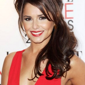 Cheryl Cole Long Half Up Half Down Hairstyles For Wedding