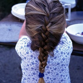 Children's Braided Hairstyles Pictures