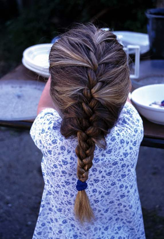 Wondrous How To French Braid Children S Hair Braids Hairstyle Inspiration Daily Dogsangcom