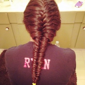 Classic French Fishtail Braid