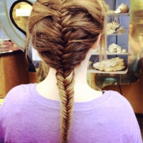Classic French Fishtail Braid Hairstyle