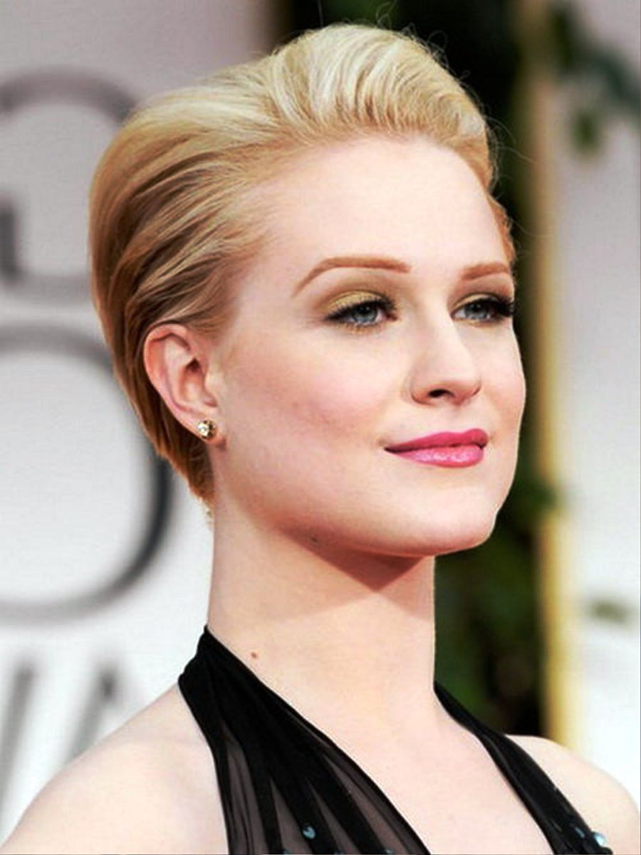 Pictures of Classic Short Prom Hairstyles
