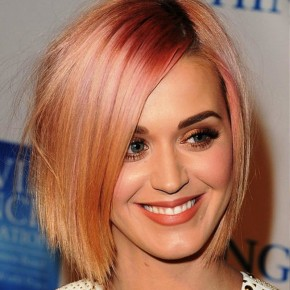 Colored Short Hairstyles For Stright Hair