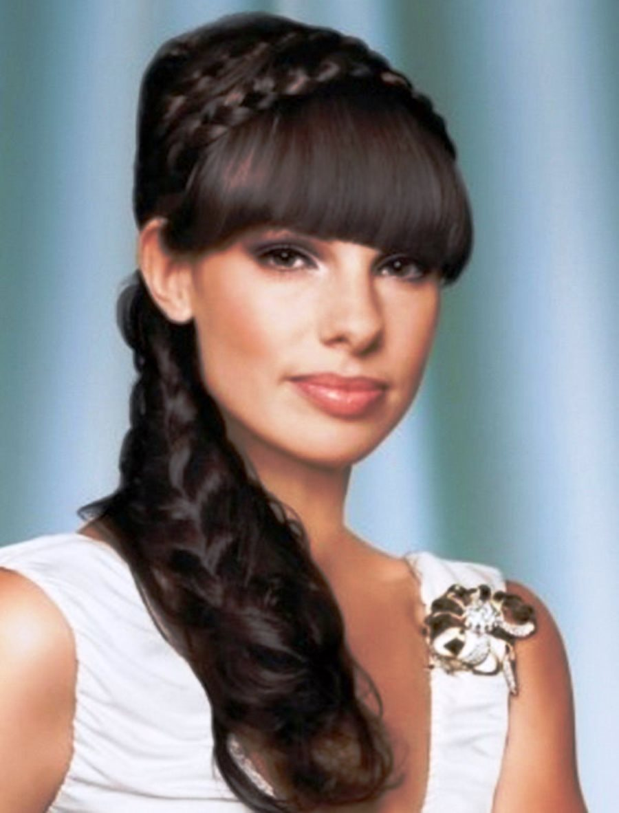Incredible Pictures Of Cool Bridal Hairstyles 2013 For Long Black Hair Hairstyles For Women Draintrainus