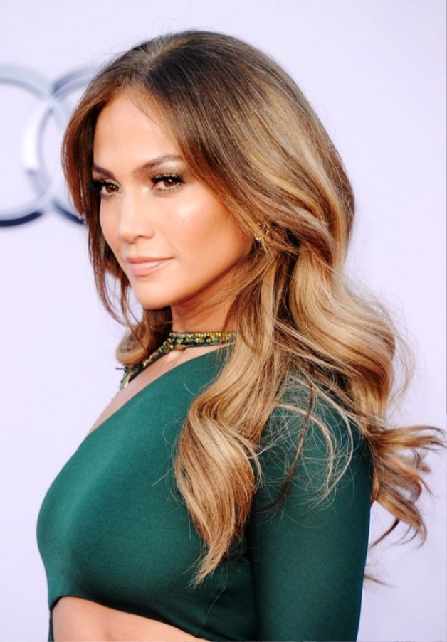 Cool Jennifer Lopez Long Sleek Hairstyle
