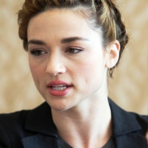 Crystal Reed French Braided Updo