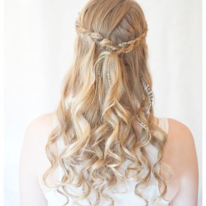 Curly Braided Hairstyles Down