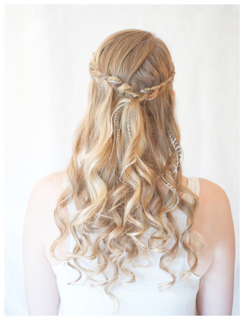 Pictures of Curly Braided Hairstyles Down