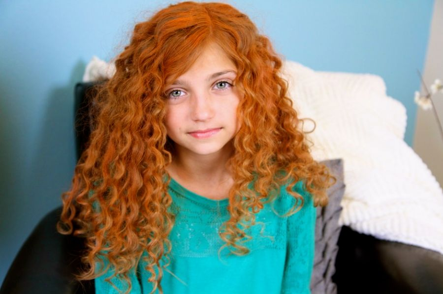 Pleasing Curly Hairstyles For 12 Year Olds Behairstyles Com Hairstyles For Men Maxibearus