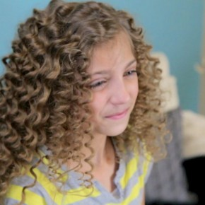Curly Hairstyles For 12 Yr Old Girls