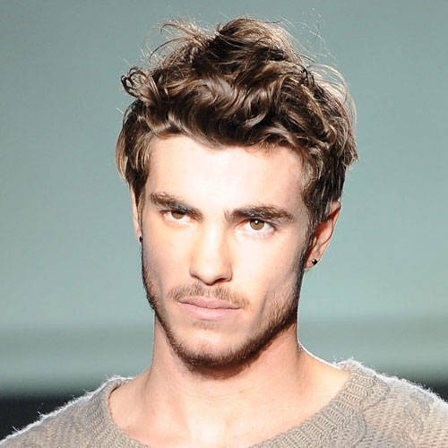 Magnificent Easy Hairstyles For Guys With Curly Hair Short Curly Hair Hairstyles For Men Maxibearus