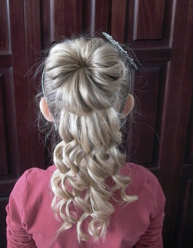 Curly Hairstyles Little Girls