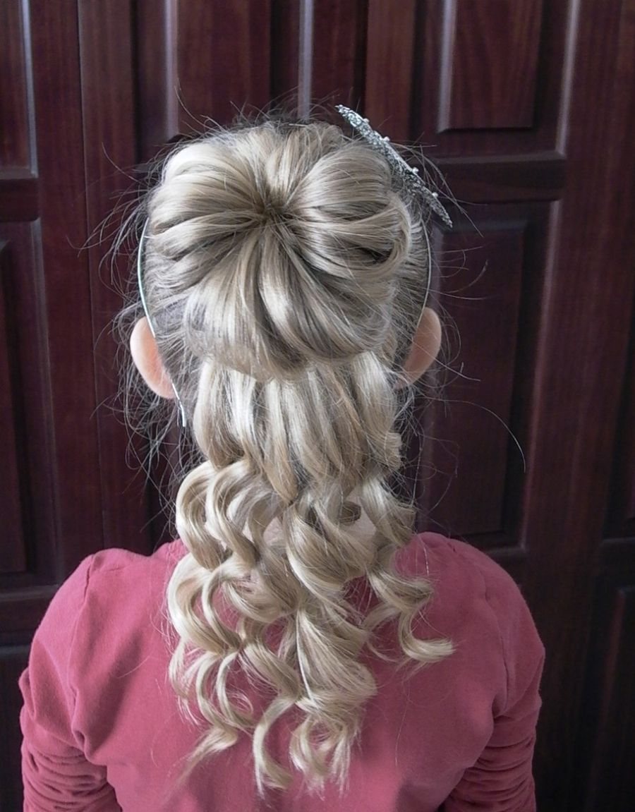 Admirable Pictures Of Curly Hairstyles Little Girls Hairstyle Inspiration Daily Dogsangcom