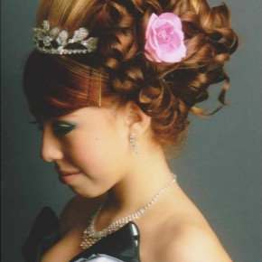 Curly Hairstyles Quinceanera