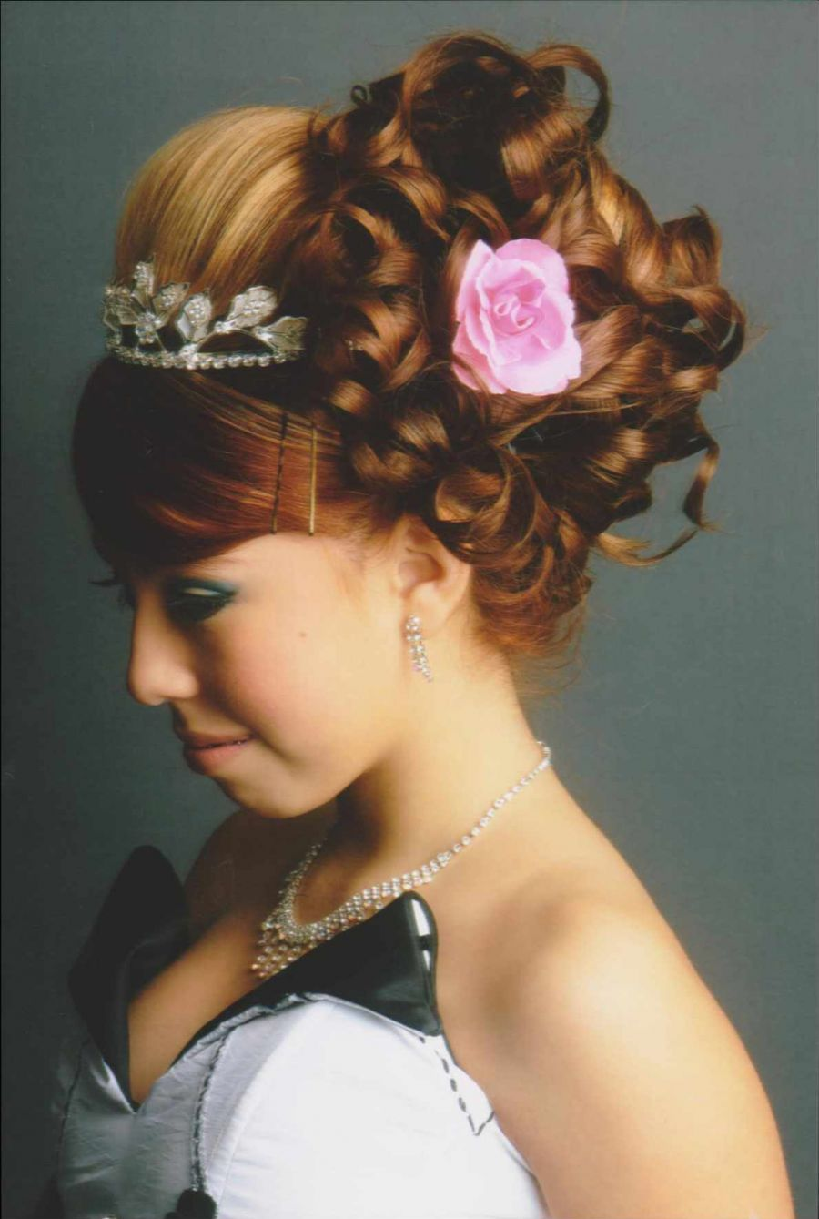 Pictures Of Curly Hairstyles Quinceanera
