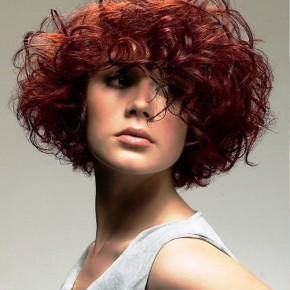 Curly Bob Colored Hairstyles
