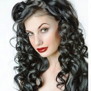Curly Long Hairstyles For Black Hair