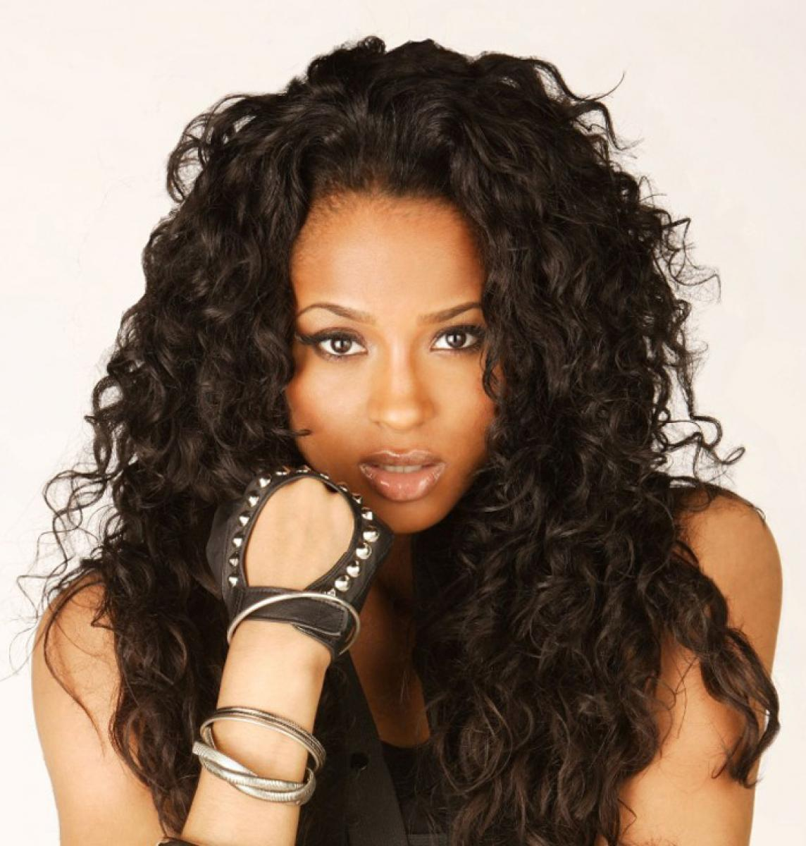 Pictures of Curly Weave Hairstyles for African American Women