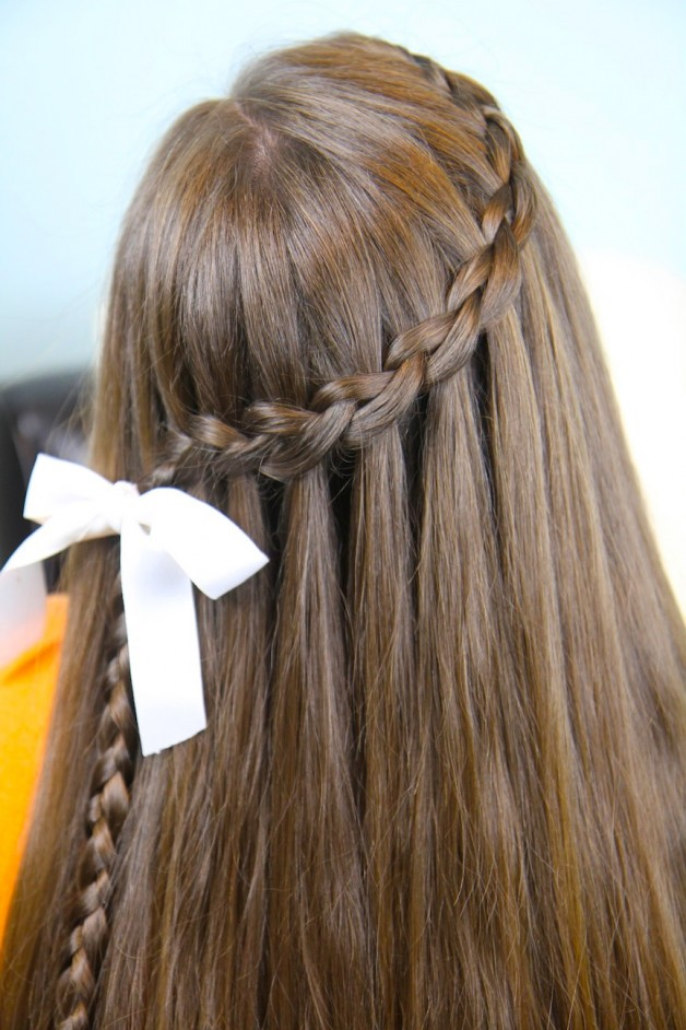 Outstanding Cute Braided Curly Hairstyles Braids Hairstyle Inspiration Daily Dogsangcom