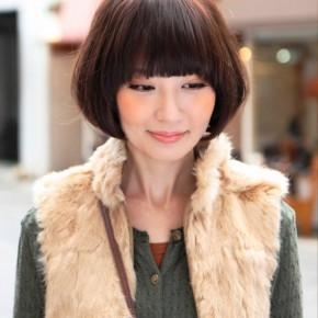 Cute Asian Bob Hairstyle