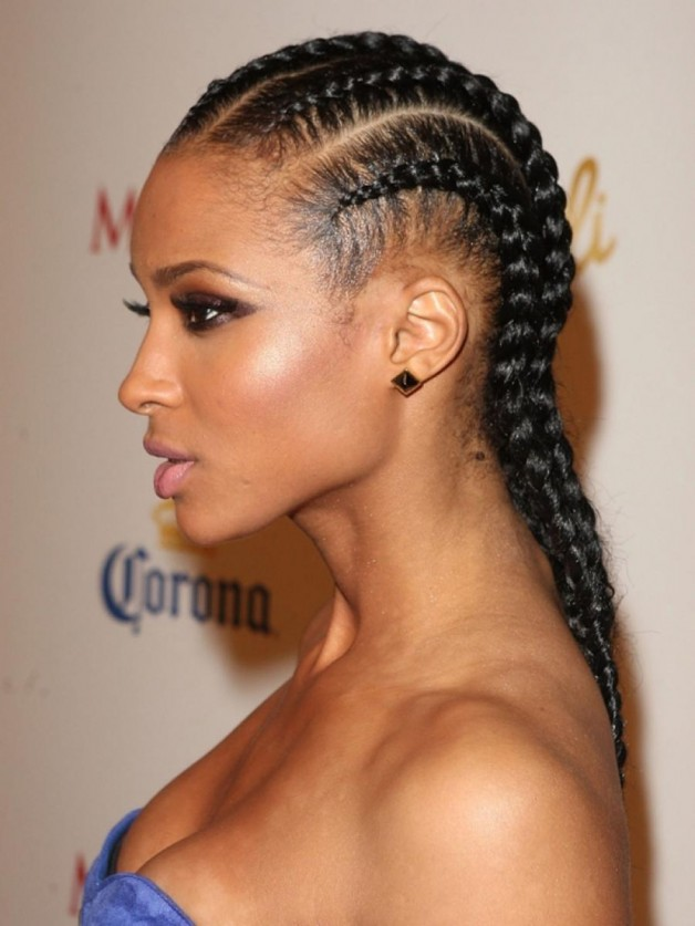 Pleasing African American Braided Hairstyles 2013 Behairstyles Com Hairstyle Inspiration Daily Dogsangcom