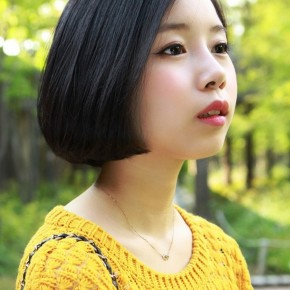 Cute Classic Asian A Line Bob