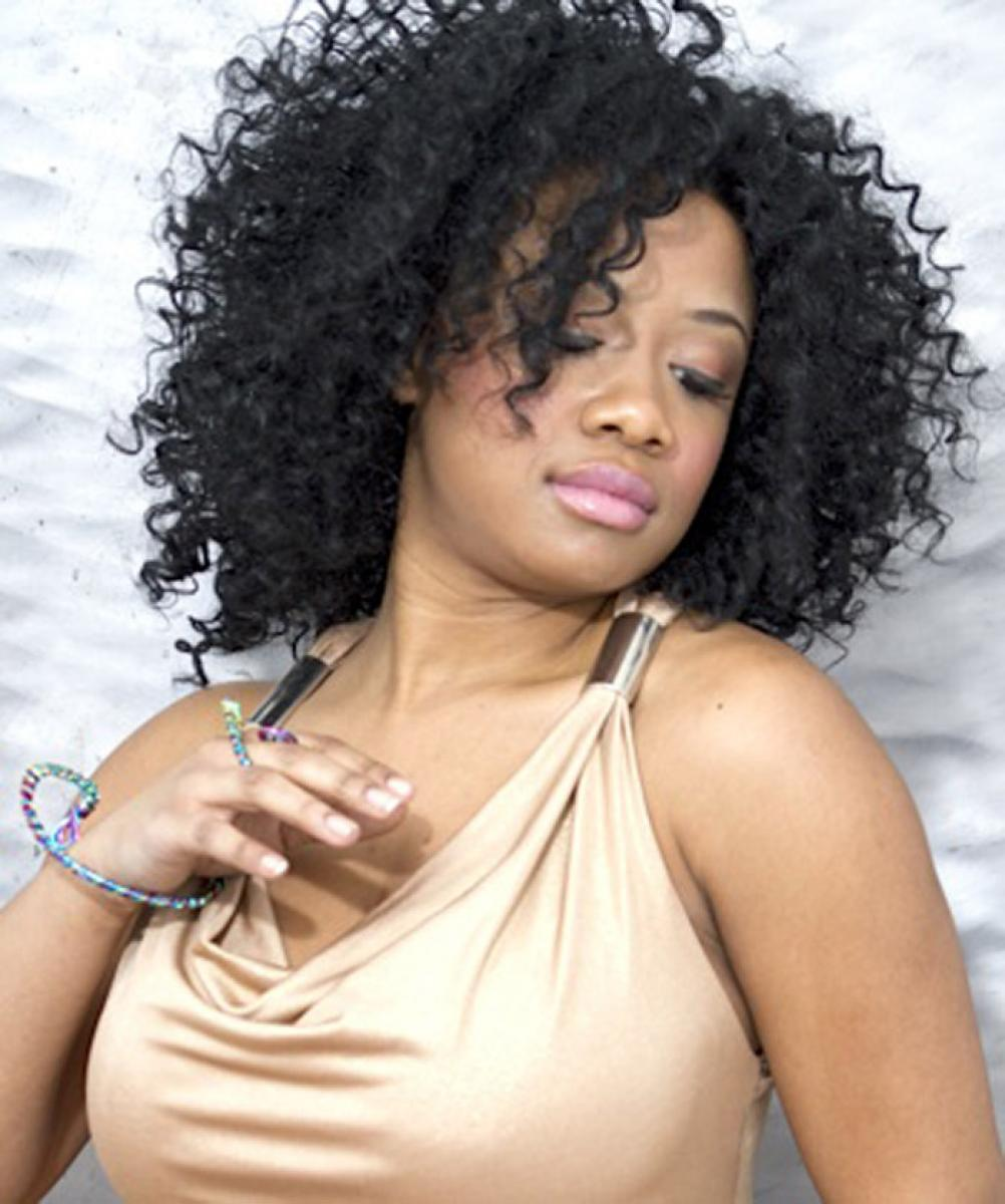 Cute Curly Weave Hairstyles for Black Women Pictures