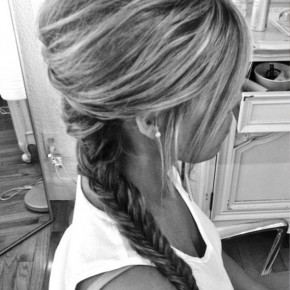 Cute Fishtail Braid For Girls